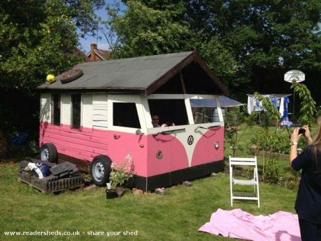 Camper Shed - Phillip Western - Selly Park Birmingham