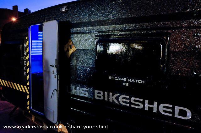 LHS Bikeshed - tom wyatt - Car Park