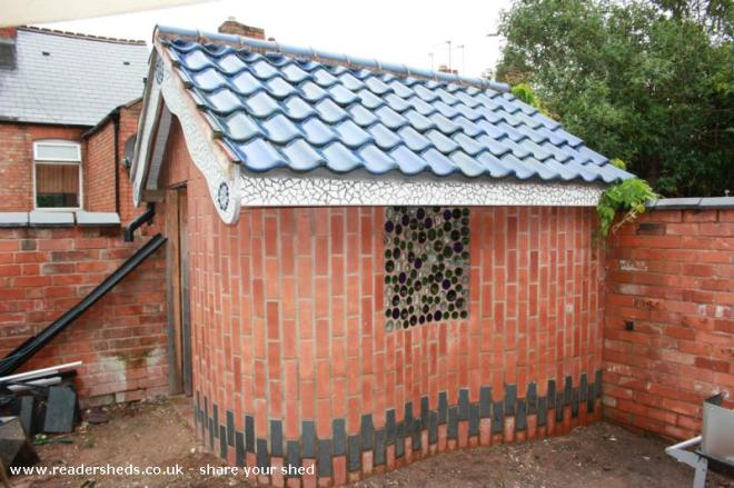 the Gaudi school shed - mark clinton - yard