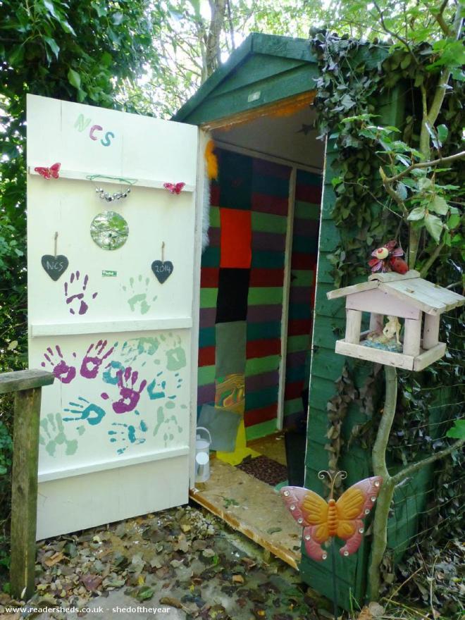 Aladdin's Cave - Liz Fallon - Wildlife Garden at The Butterfly Garden charity's site