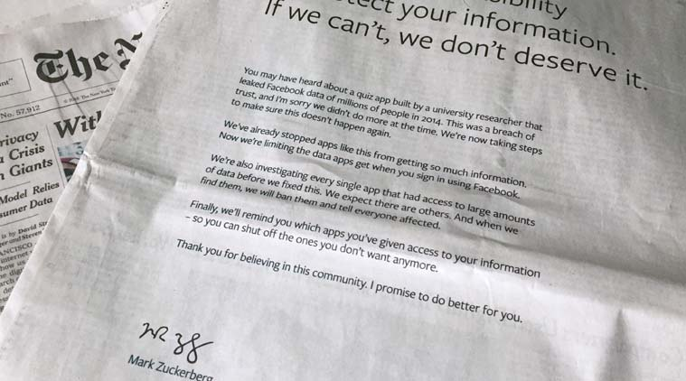 Facebook\u0027s apology letter signed by CEO Mark Zuckerberg in UK, US - apology letter