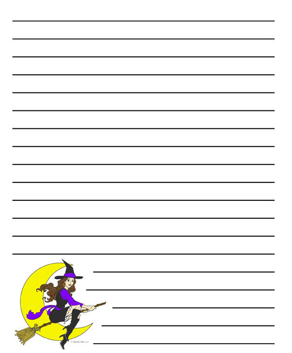 halloween letter template - Intoanysearch