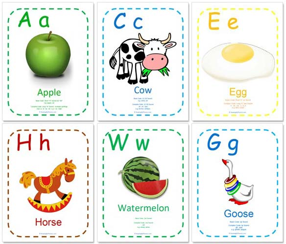 ABC Printables - Big, Colorful Printable Alphabet Pages For Your Child