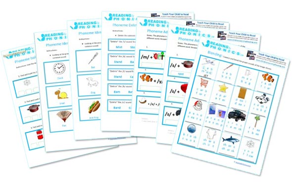 Reading and Phonics Worksheets for Kids - Printable Phonics Activities - phonics worksheet