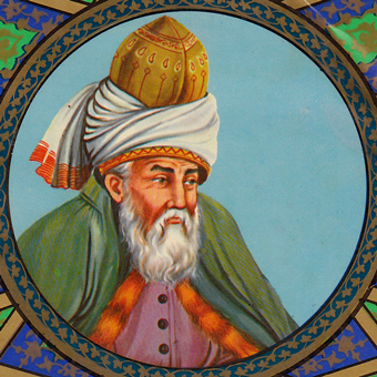 Depiction of Rumi