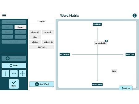 Word Matrix App - ReadWriteThink