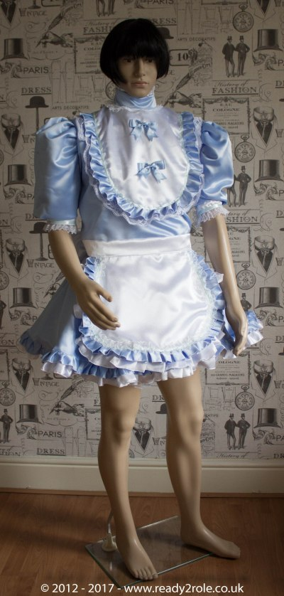 Sissy Dress Frilly Baby Blue Ready2Role