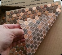 Tile Sheets Made With Pennies - The REAL Penny Mosaic Tile ...