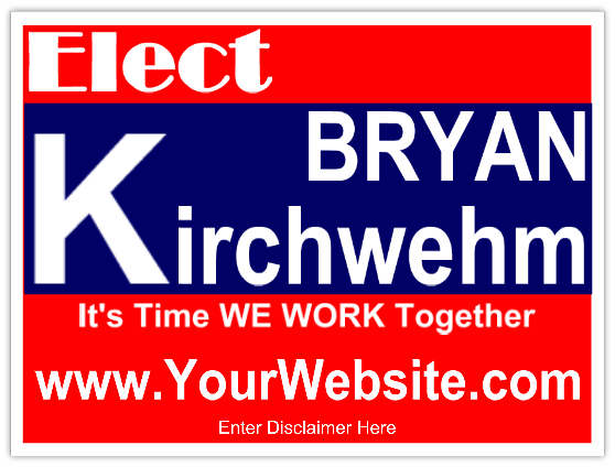 political yard signs election campaign yard signs by