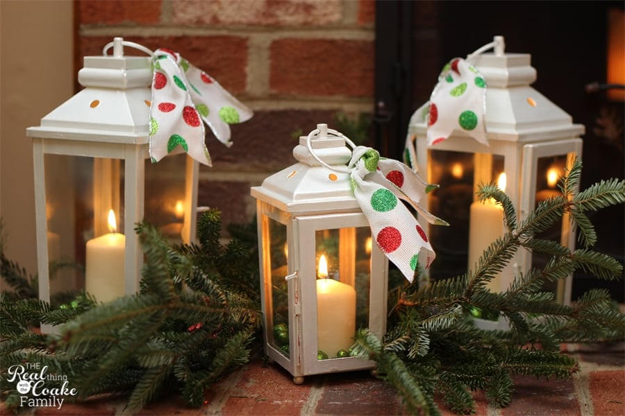 Christmas decorating ideas for your Christmas Mantel - christmas decorations for mantels