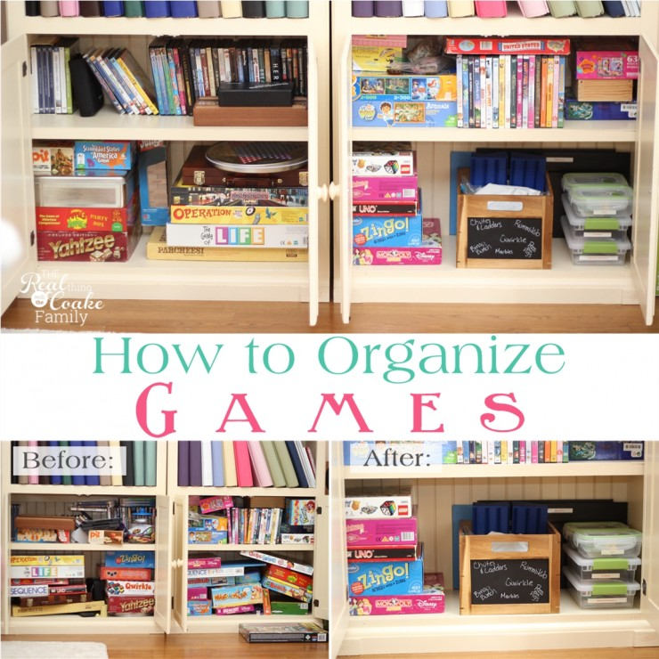 How to Organize Your Games