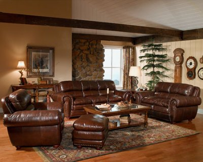 Brown Leathered Sofa Ideas - Home Decorating Ideas