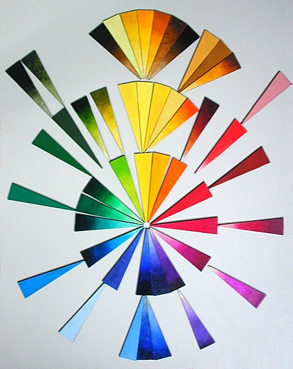 Clickable Pigment Sample ChipChart - sample cmyk color chart