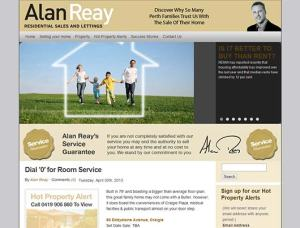 Alan Reay Real Estate and Property Management Website