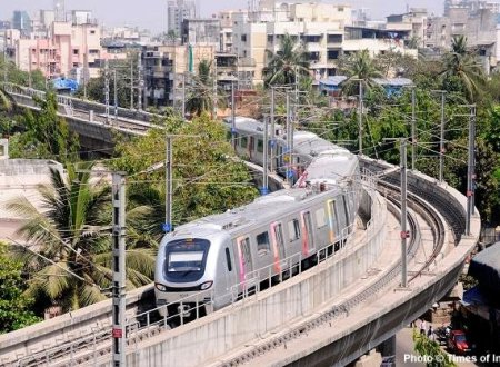 How has the Mumbai Metro Phase I aided Real Estate