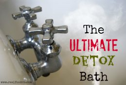 The Ultimate Detox Bath 1024x685 100+ DIY Remedies for Colds, Flu & Everything Else!