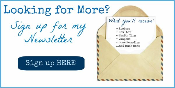 sign up form 1024x520 100+ DIY Remedies for Colds, Flu & Everything Else!