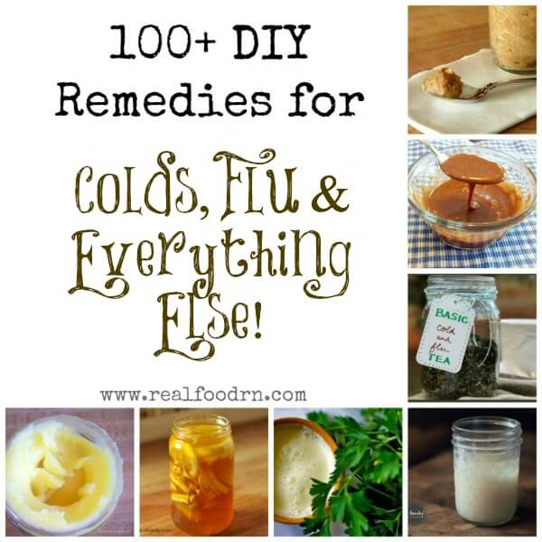 100+ DIY Remedies for Colds Flu Everything Else 1024x10241 100+ DIY Remedies for Colds, Flu & Everything Else!
