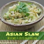 Asian Slaw with Sweet Spicy Ginger Dressing 150x150 The Ultimate Cruciferous Vegetables Recipe Round up