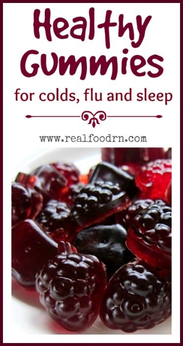 Healthy Gummies for Cold Flu and Sleep | Real Food RN