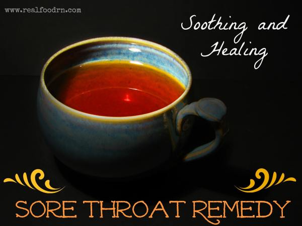 Soothing and Healing Sore Throat Remedy