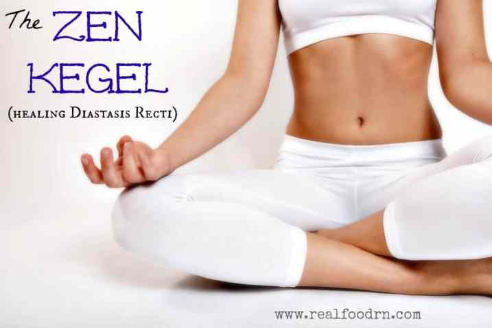 diastasis recti The Zen Kegel (healing Diastasis Recti)