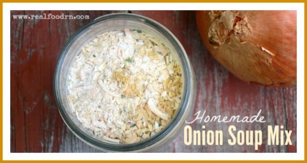 Homemade Onion Soup Mix | Real Food RN
