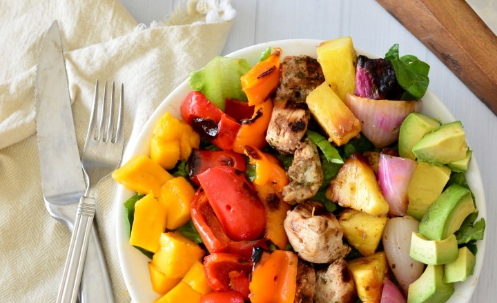 Jamaican Chopped Chicken Salad | Real Food with Dana