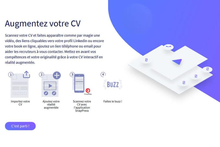 faire un cv avec differente experience