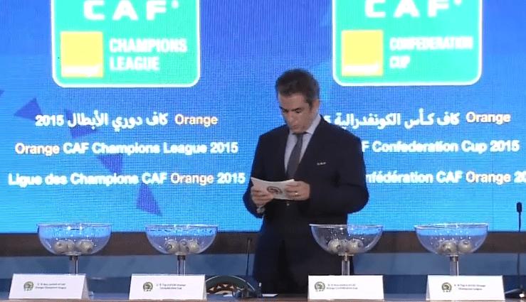 Coupe de la caf les r sultats du tirage au sort r alit s - Tirage au sort coupe de la ligue 2015 ...