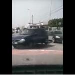 Vidéo : une voiture malmenée par un «changuel»