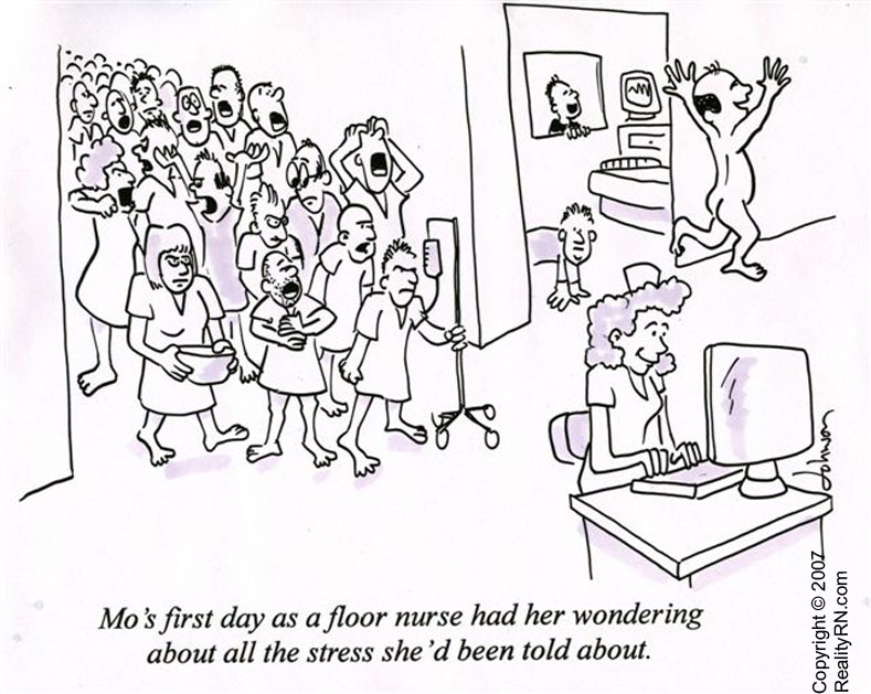 Mental Health Day « Nurstoons Nursing Humor Calling in sick - nursing assessment form