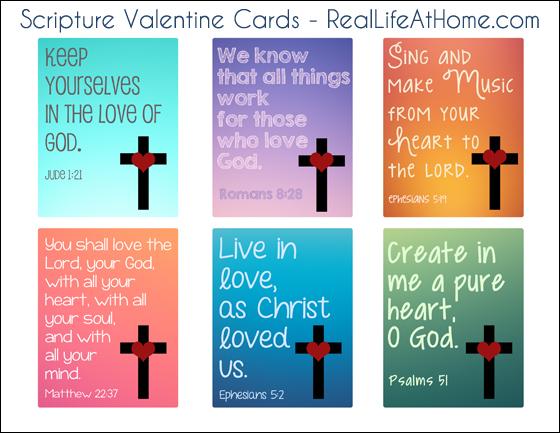 michelle paige blogs 10+ Scripture Valentines to Print