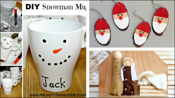Christmas Crafts for Kids: Cards, Gifts, Garland, Ornaments, and More