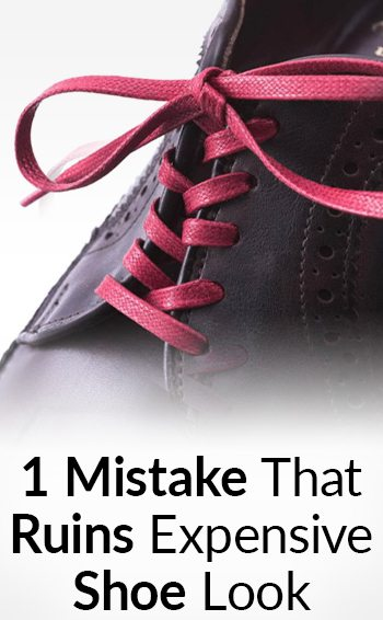 How To Lace Your Dress Shoes Straight Lacing System