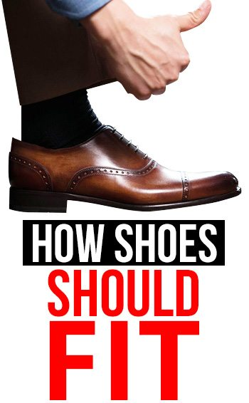 How Your Dress Shoes Should Really Fit STOP Buying The Wrong Shoe Size