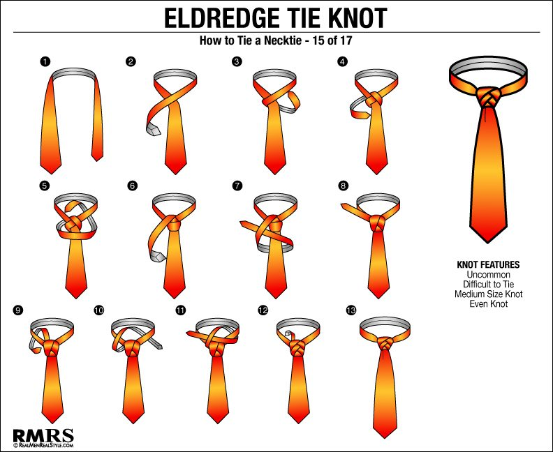 Eldredge Knot How To Tie Eldredge Tie Knots In 2019