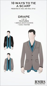 10 Manly Ways To Tie A Scarf | Masculine Knots For Men ...
