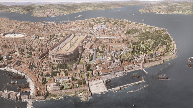 Army 3d Wallpaper Gorgeous Images Reconstruct Constantinople From 4th To