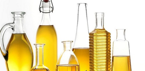 sesame and rice bran oil