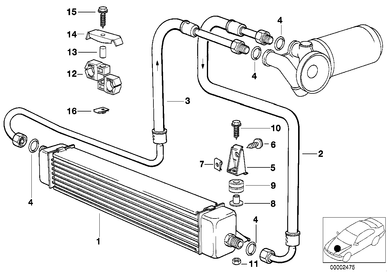 1997 bmw 528i wiring harness