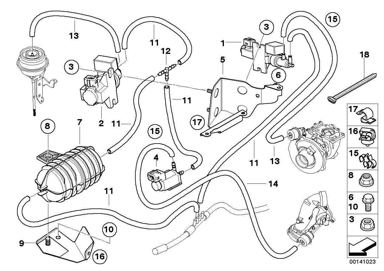 bmw e60 engine parts diagram