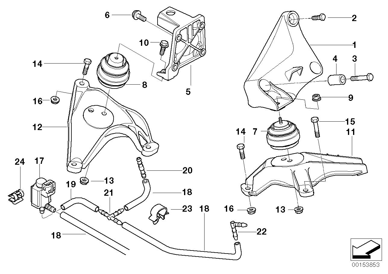 bmw 530d e60 engine diagram