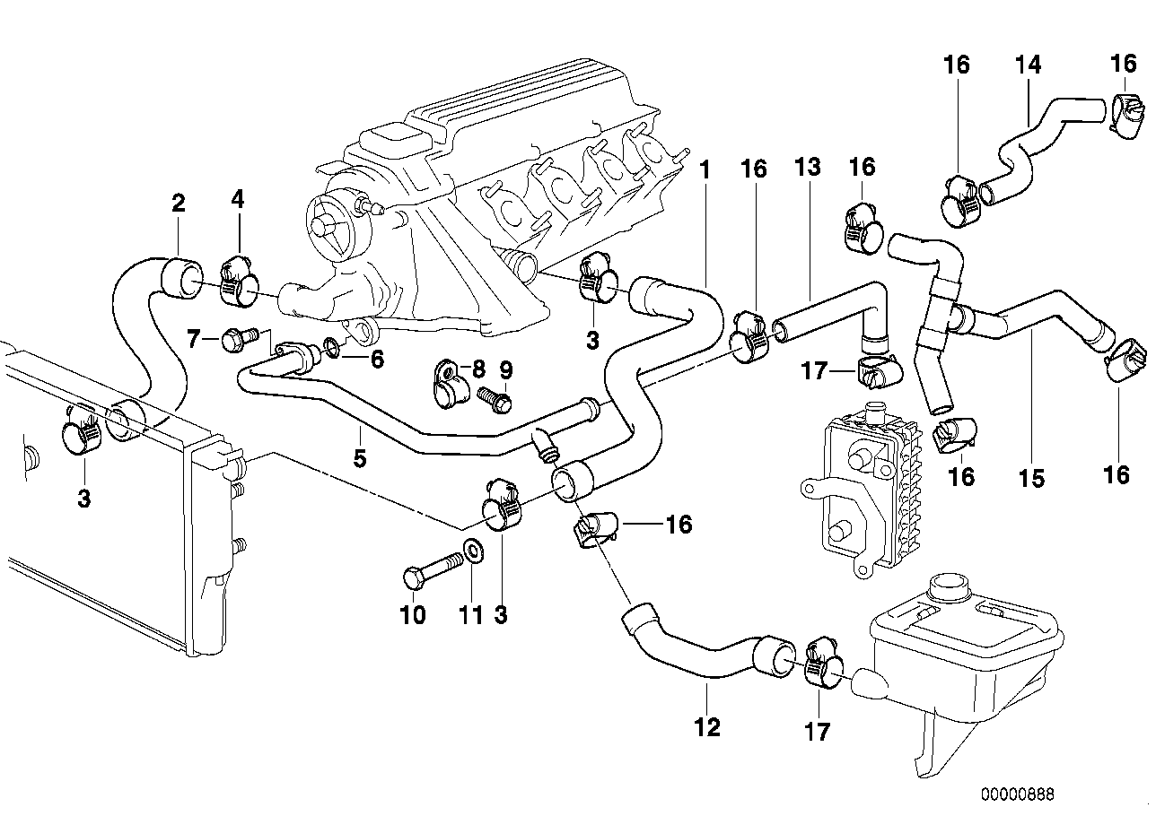 2007 bmw 328i sedan fuse box diagram