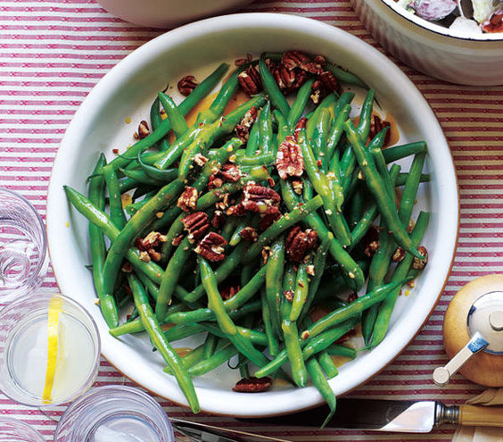 Green Beans With Pecans And Maple Vinaigrette | 11 Fresh Green