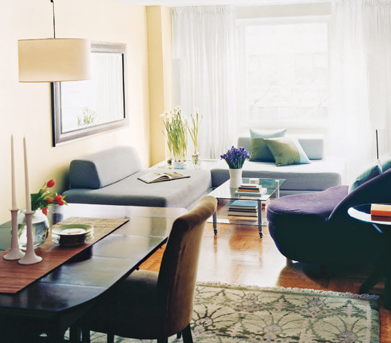 14 Living-Room And Dining-Room Makeovers   Real Simple