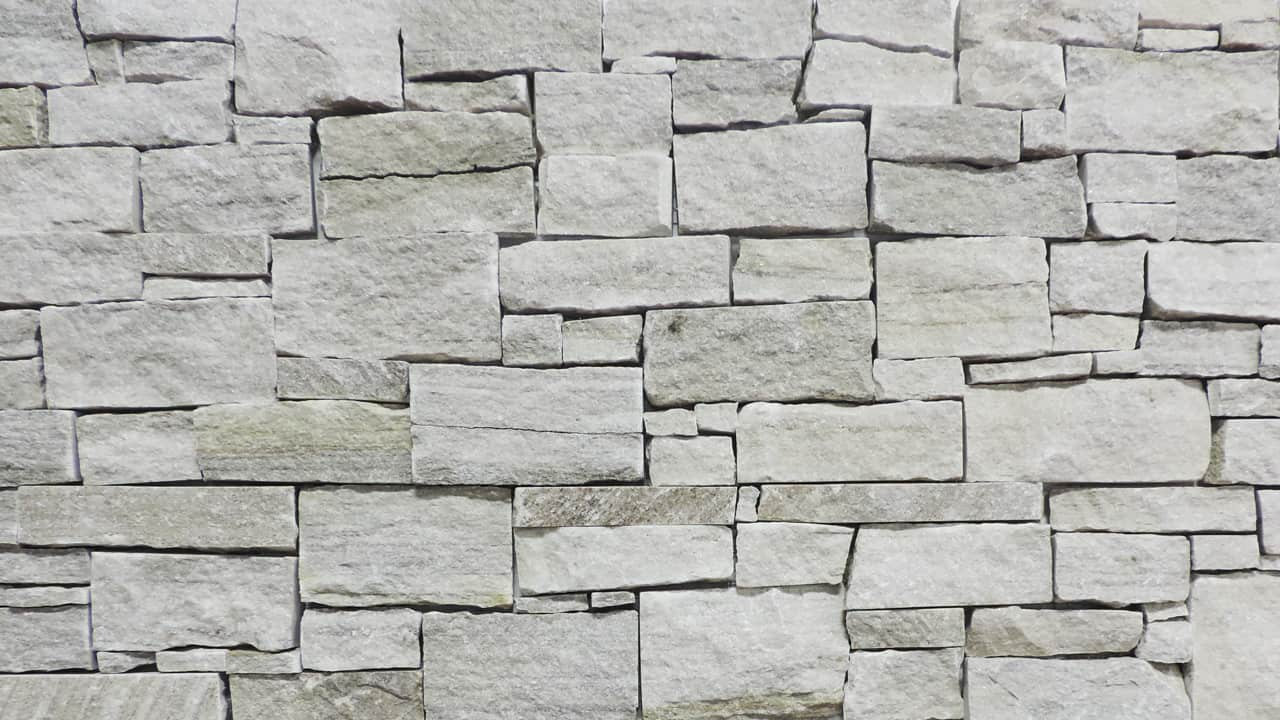 3d Grey Brick Wallpaper Stone Veneer Wall Panels Real Stone Systems