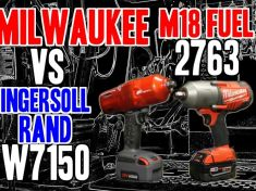 Milwaukee Vs Ingersoll rand