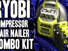 Ryobi compressor combo kit