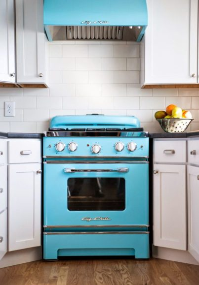 "The 36"" Retro Stove"